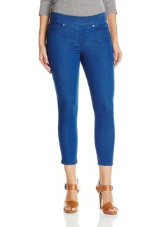 Levi's Women's Perfectly Skinny Pull On Crop Jean Beaming Blue