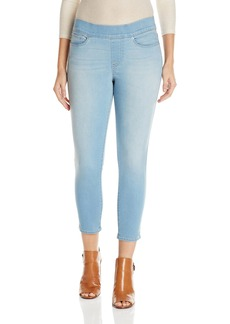 Levi's Women's Perfectly Skinny Pull On Crop Jean Sun Soaked