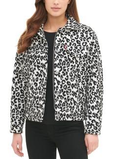 Levi's Women's Plaid Trucker Jacket