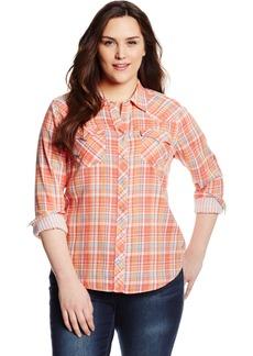 Levi's Women's Plus-Size Annie Western Shirt