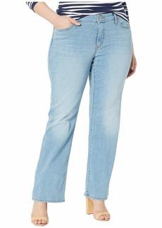 Levi's Women's Plus-Size Classic Bootcut Jeans sandy toes