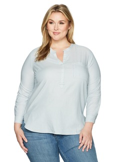 Levi's Women's Plus Size Easy Popover Shirt  3 X