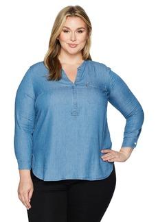 Levi's Women's Plus Size Easy Popover Shirt  3 X