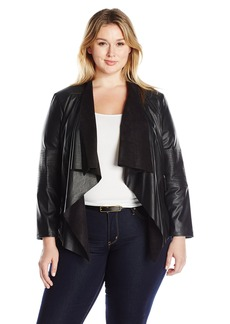 Levi's Women's Plus Size Faux Leather Fashion Jacket