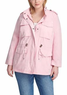 Levi's Women's Lightweight Parachute Cotton Military Jacket (Standard & Plus Sizes)