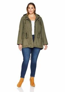 Levi's Women's Plus Size Parachute Cotton Utility Jacket