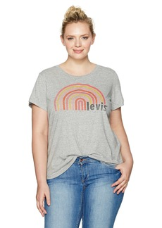 Levi's Women's Plus Size Perfect Tee Shirt  1 X