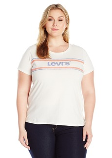 Levi's Women's Plus Size Perfect Tee Shirt  1 X