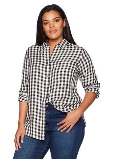 Levi's Women's Plus-Size Ryan 1 Pocket Boyfriend Shirt  1 X
