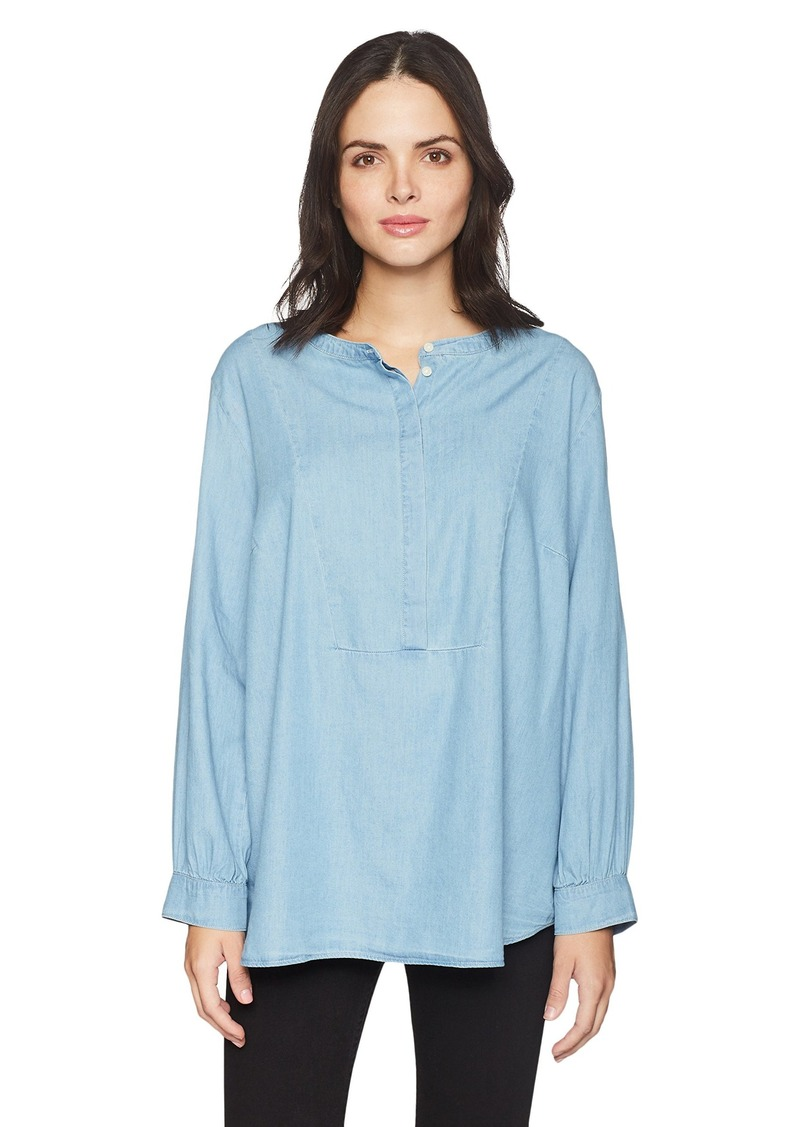 Levi's Women's Plus-Size Sandy Popover with Bib Top