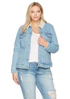 Levi's Women's Plus Size Sherpa Trucker Jackets  3 X