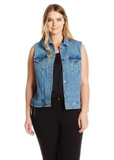 Levi's Women's Plus Size Trucker Vest  3 X