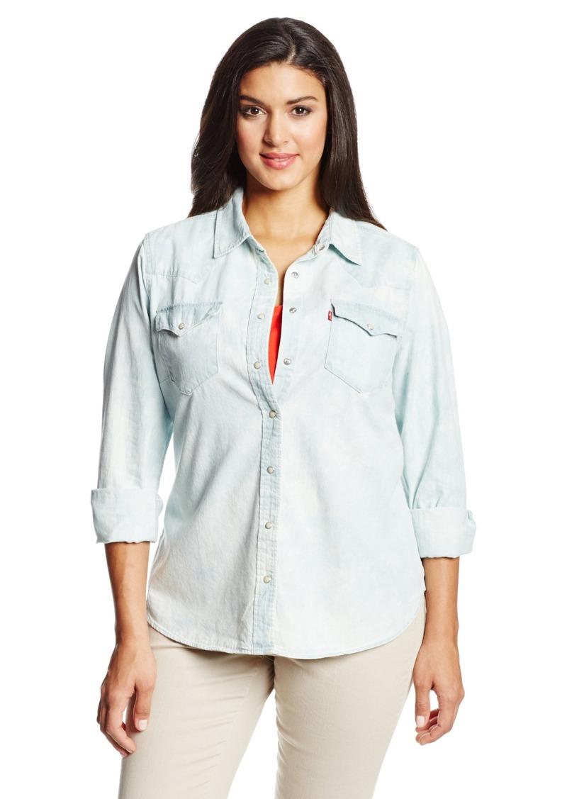 3f476d14b83 Levi s Levi s Women s Plus-Size Western Shirt