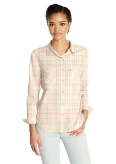 Levi's Women's Plus Size Workwear Boyfriend Shirt  1 X