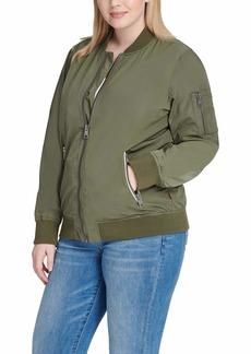 Levi's Ladies Outerwear Women's Plus Size Bomber Jacket