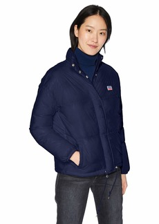 Levi's Women's Quilted Retro Bubble Puffer Jacket