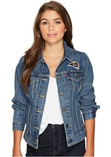 Levi's® Womens Rams Sport Denim Trucker