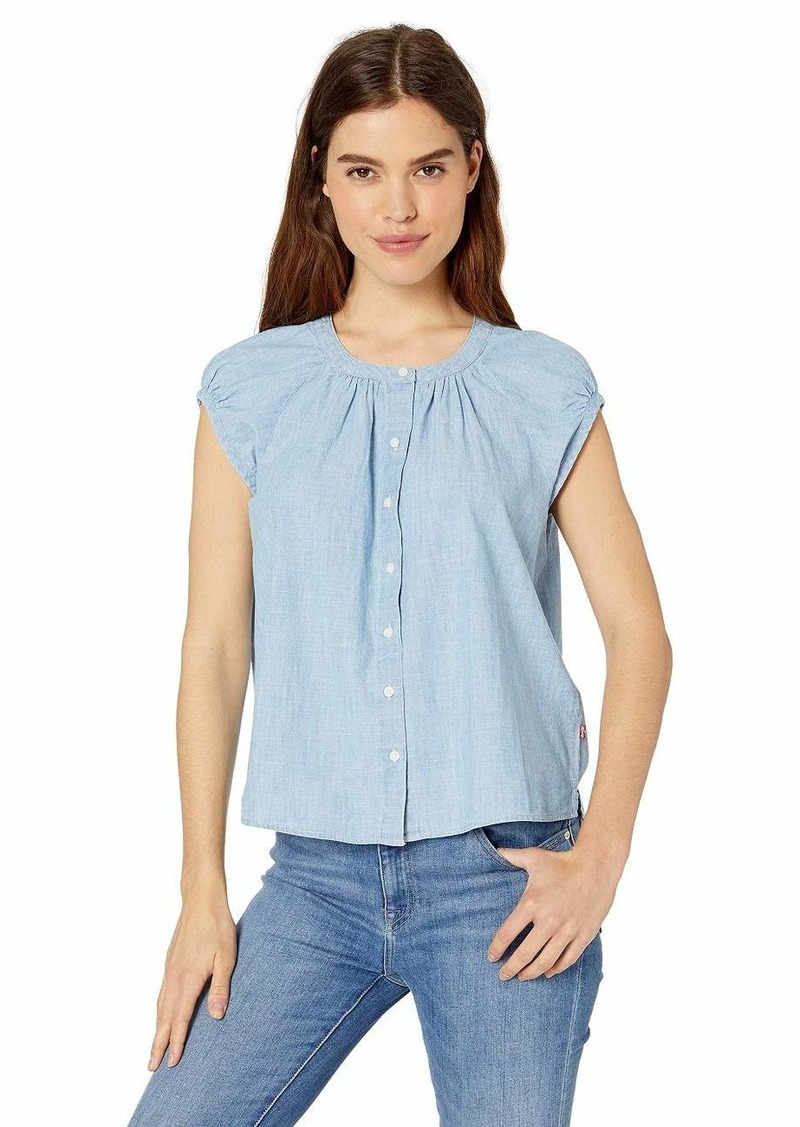 Levi's Women's Reagan Shirt Light wash x