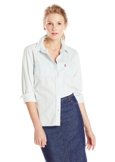 Levi's Women's Relaxed Boyfriend 2 Pocket Shirt