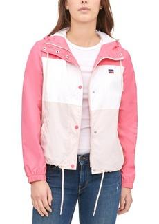 Levi's Women's Retro Hooded Windbreaker Jacket