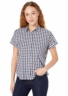 Levi's Women's Sadie Button Back Shirt Loveland sea Captain Blue