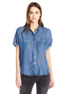 Levi's Women's Short Sleeve Holly Shirt
