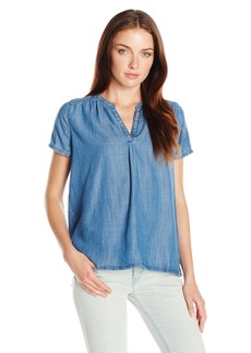 Levi's Women's Short Sleeve Rosewood Shirt  X-Large