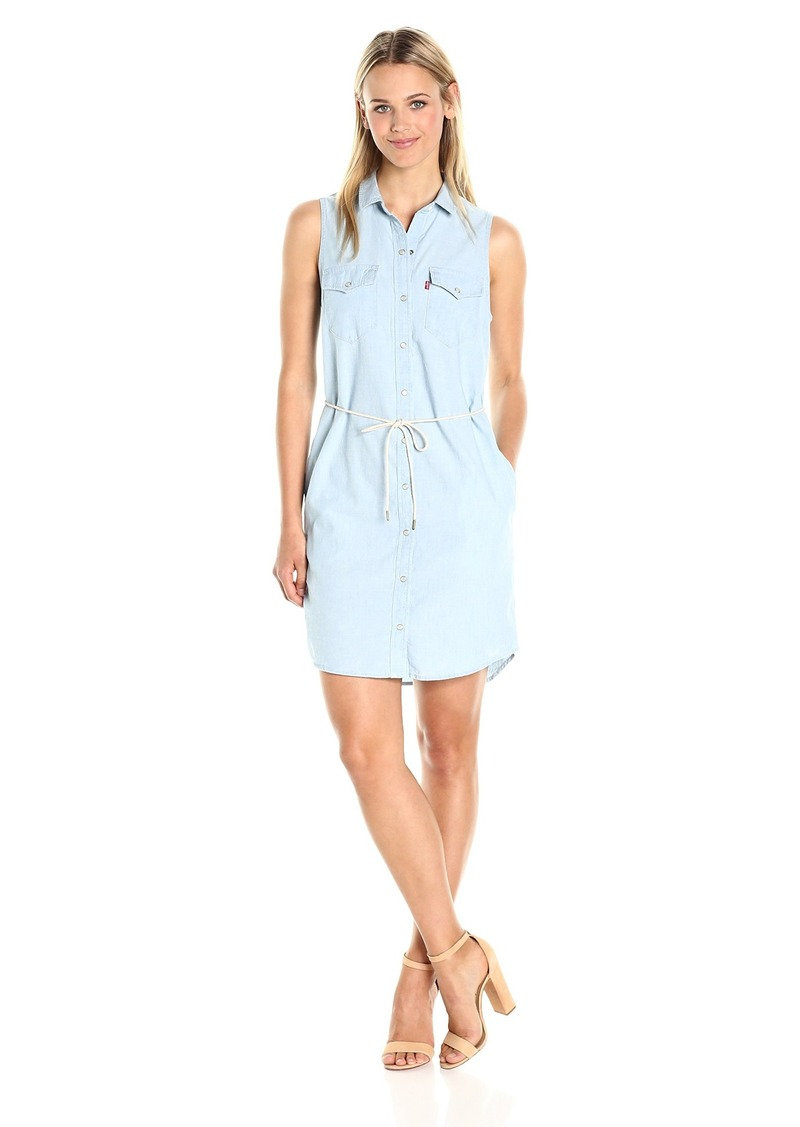 Levi's Women's Sleeveless Modern Western Dress