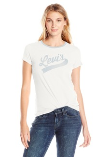 Levi's Women's Slim Crew Neck Tee Shirt