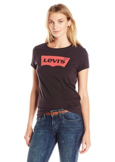 Levi's Women's Slim Crew Neck Tee Shirt  Small