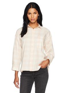 Levi's Women's Stella Shirt yew Sepia Rose