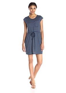 Levi's Women's Striped Cap Sleeve Dress