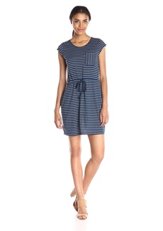 Levi's Women's Striped Cap Sleeve Dress
