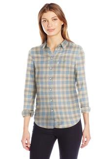 Levi's Women's Tailored Classic One Pocket Shirt INCI Oatmeal