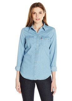 Levi's Women's Tailored Classic Western Shirt  Medium