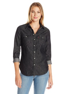 Levi's Women's Tailored Classic Western Shirt  X-Small