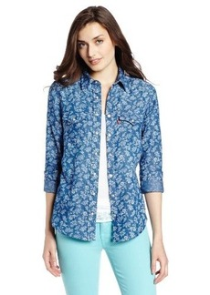 Levi's Women's Tailored Western Floral Shirt