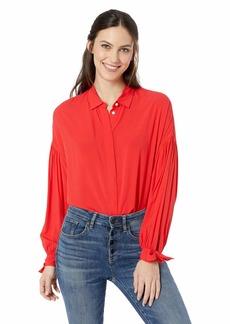 Levi's Women's Terri Shirt Chinese red