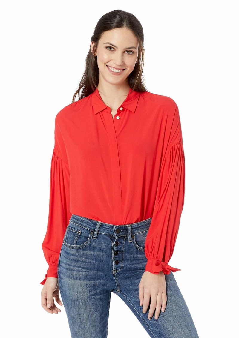 Levi's Women's Terri Shirt Chinese red