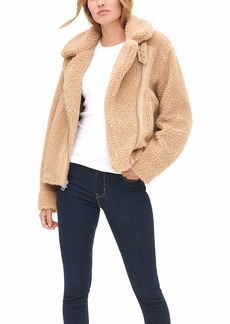Levi's Women's The Megan Sherpa Moto Jacket (Standard & Plus Sizes)