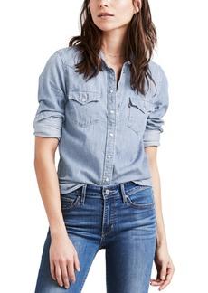 Levi's Women's The Ultimate Western Cotton Denim Shirt