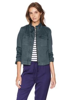 Levi's Women's Two-Pocket Cropped Cotton Trucker Jacket  L