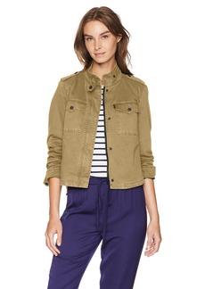 Levi's Women's Two-Pocket Cropped Cotton Trucker Jacket  XL