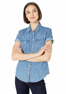 Shoulder Women's TopCasual The Levi's Off Shirts JcTF1lK