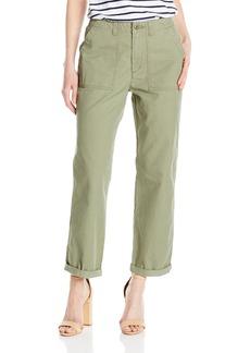 Levi's Women's Utility Chino Pant Hazy Deep Lichen Green