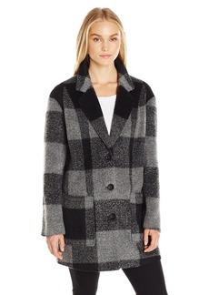 Levi's Women's Wool Oversized Boyfriend Walking Coat  L