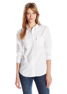 Levi's Women's Workwear Boyfriend Shirt  Medium