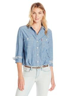 Levi's Women's Workwear Boyfriend Shirt  Small