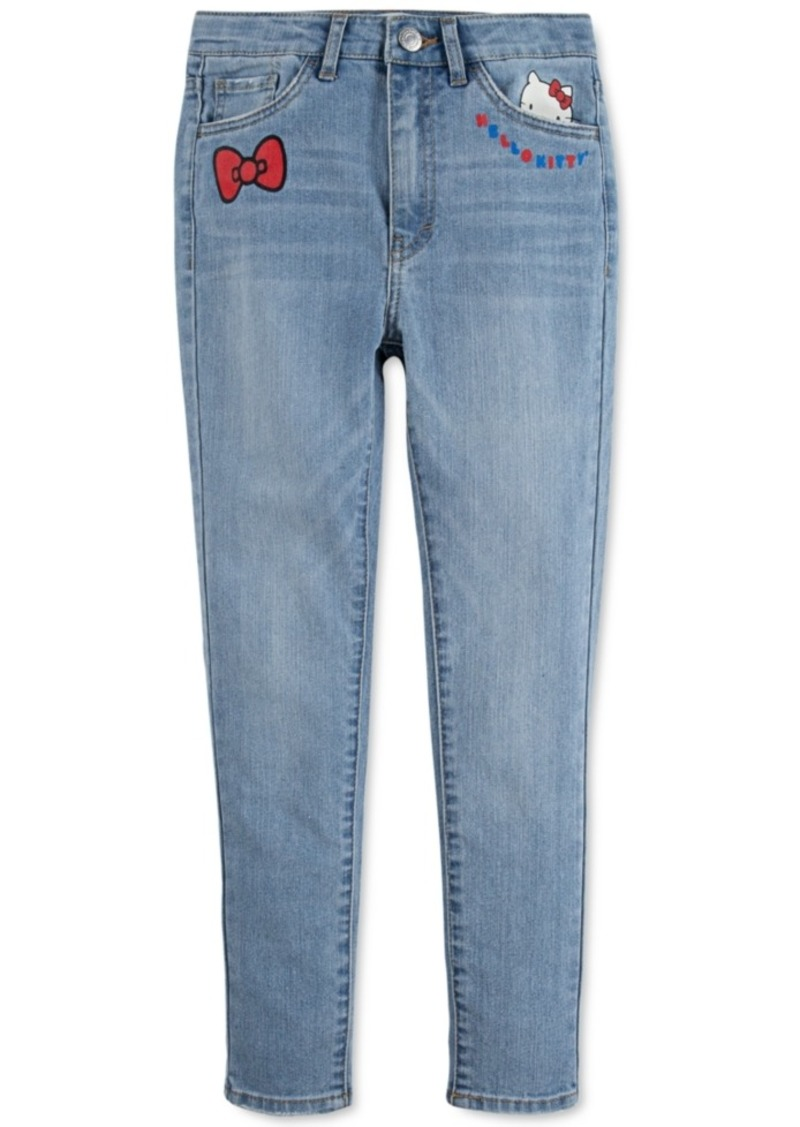 Levi's x Hello Kitty Toddler Girls Super Skinny Jeans