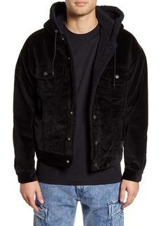 Levi's® x Justin Timberlake Faux Fur Lined Corduroy Trucker Jacket